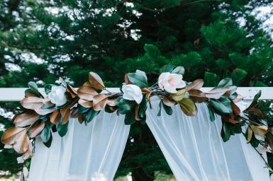 Magnolia Floral Arrangment